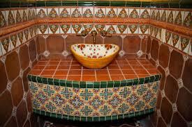 mexican tile bathroom designs bold idea mexican tile bathroom ideas by clay imports sinks