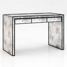 Mirrored Desks Furniture Mirrored Desk Stylish Studio Desk Z Gallerie