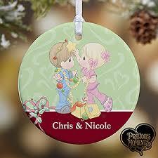 personalized ornaments precious moments