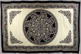 Pentacle Rug Witchcraft Tools U0026 Supplies Altar Cloths Tapestries