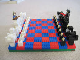 awesome lego chess set 8 steps with pictures