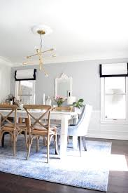 the beauty blender u2014 dining room renovation blue coastal chic