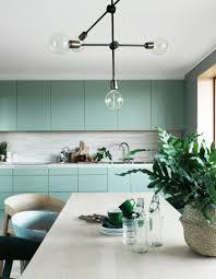 Salle De Bain Vert D Eau Voici 25 Cuisines Ultra Colorées Qu U0027on Adore Elle Décoration