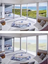 Electric Curtains And Blinds New Wi Fi Enabled Windows Change Transparency At The Click Of