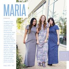 lularoe has a new floor length dress and her name is maria