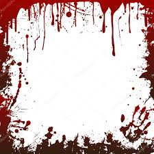 halloween frame halloween blood frame u2014 stock vector linalisichka 124207662