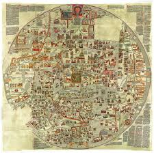 Image Of World Map by The Ebstorf Mappamundi U2013 Map Of The 13th C Christian World