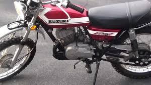 1972 suzuki tc 125 youtube