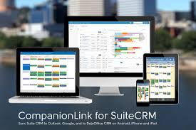 dejaoffice for android companionlink announces suitecrm sync to outlook android and