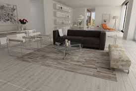 Modern Living Room Rugs Patchwork Cowhide Rug Stripes Design In White Gray And Beige