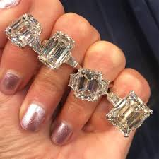 large diamonds rings images Large emerald cut diamond rings big diamonds pinterest rings jpg