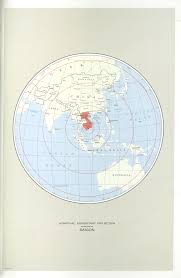 Azimuthal Map Indochina Atlas Perry Castañeda Map Collection Ut Library Online