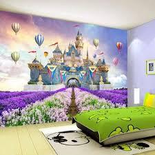 online get cheap purple mural wall paper aliexpress com alibaba kids bedroom wallpaper purple flower ballon towe castle alcazar barbacan photo murals for living room wall