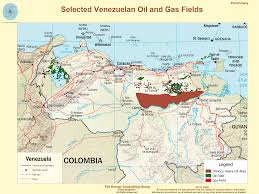 Gulf Of Mexico Block Map by The Upstream Oil And Gas Industry In Venezuela