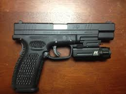 springfield xd tactical light custom springfield xd tactical firearms classifieds tngunowners com