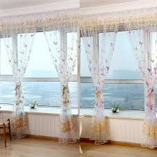 Blue Butterfly Curtains Kitchen Amazing Butterfly Kitchen Curtains Blue Butterfly
