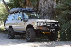 icon land cruiser 1990 fj62 toyota land cruiser on fzj80 chassis arb roof rack and