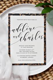 easy wedding invitation borders pipkin paper company