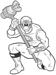 ranger red ninja thunder coloring pages power ranger coloring