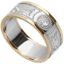celtic ring ladies gold warrior shield wedding ring at