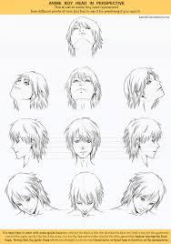 anime head drawing manga face template http mermaidundersea