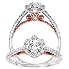 wedding bells rings images Branhams jewelry bridal bells 14k diamond engagement ring 1 4 ctw jpg