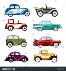 vintage cars clipart old cars vector stock vector 34612543 shutterstock