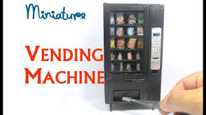 Dollhouse Furniture Kitchen Diy Vending Machine Snack Machine Dollhouse Furniture Miniature