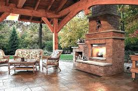Backyard Fireplace Ideas Patio With Fireplace Ideas Fireplace Ideas Patio Backyard