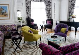 Living Room With Purple Sofa Living Room With Purple Sofa Pretty Choice Designs Ideas Decors