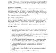 grant cover letter cover letter sle for grant on free of