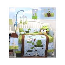 Green And Brown Crib Bedding by Frog Crib Bedding Sets Cheap Crib Bedding Sets