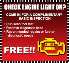 free check engine light test near me specials certified car care