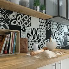 carreau cuisine idee deco cuisine grise frais carreau de ciment époque décor