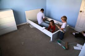 time lapse assembly of ikea malm bed frame youtube review maxresde