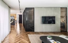 interior partitions for homes glass and aluminum partitions fashion dynamic home in ramat hasharon