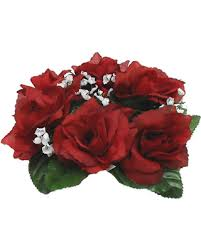 flower candle rings bargains on candle rings centerpieces roses silk wedding flowers