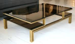 smoked glass coffee table coffee tables on ebay smoked glass coffee table high shine chrome