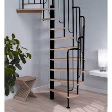 stair artistic home interior design ideas using spiral indoor