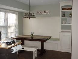 dining room with bench seating kitchen marvelous built in bench seat dining table how to make a