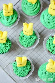 Decorating With Peeps For Easter by Easter Bunny Cupcakes Easy And Fun