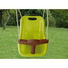 siège balançoire bébé siège bébé vert clair accessoire balançoire couleur unique soulet