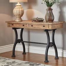 Black Entryway Table Entry Table 72poplar With Regard To Metal Entryway Table