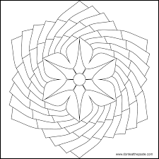 don u0027t eat the paste flower mandala to color