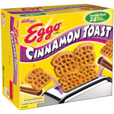 Eggo Toaster Waffles Eggo Cinnamon Toast Waffles Pack 24 Ct Pack Of 2 Eggo At The