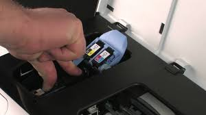 replacing cartridges and the printhead hp officejet pro 8000