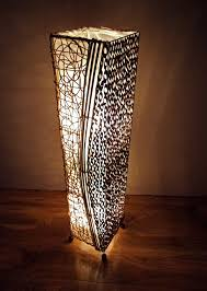 unusual lamp bamboo and rattan contemporary natural floor lamp unusual lamp bamboo and rattan contemporary natural floor lamp 100cm hand made bali lamp amazon co uk lighting