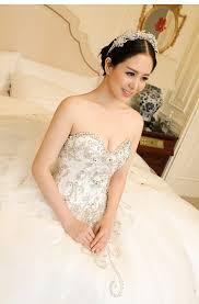 wedding dress korean wedding dresses 2016 korean version with rhinestone buy wedding