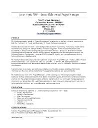 Resume Buzzwords For Management project manager resume keywords