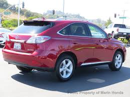 lexus rx 350 gas mileage 2012 2012 used lexus rx 350 4dr fwd at marin honda serving marin county
